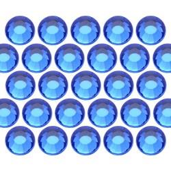 Glass rhinestone beads SS10 (3mm) Sapphire