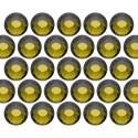 Dżety szklane SS10 (3mm) Olivine