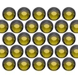 Dżety szklane SS16 (4mm) Olivine
