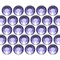 Dżety szklane SS16 (4mm) Tanzanite