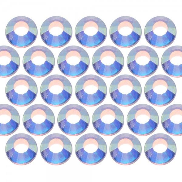Dżety szklane SS16 (4mm) AB Crystal