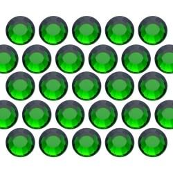 Dżety szklane SS16 (4mm) Emerald