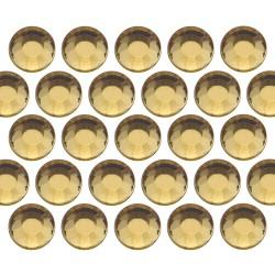 Dżety szklane SS16 (4mm) Lt. Topaz