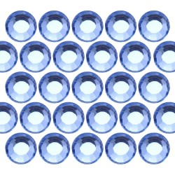 Glass rhinestone beads SS16 (4mm) Lt. Sapphire