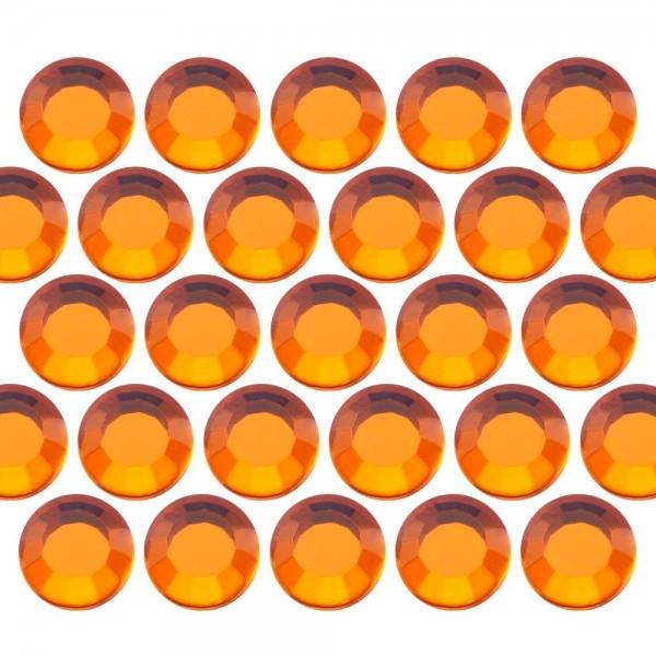 Dżety szklane SS16 (4mm) Orange