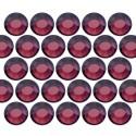 Dżety szklane SS16 (4mm) Amethyst