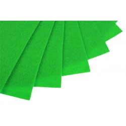 Filc w arkuszach 20x30 cm 1 szt. P027 Ciemny Zielony
