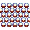 Dżety szklane SS20 (5mm) AB Sm. Topaz