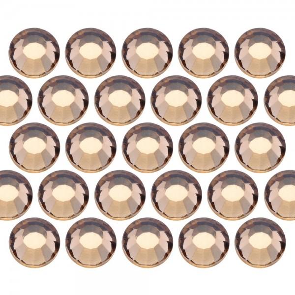 Dżety szklane SS20 (5mm) Lt. Colo. Topaz