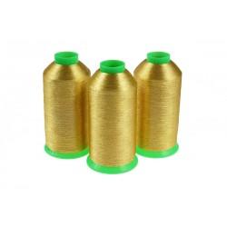 Nici metalizowane do haftu BRAVO BST415 Złoty Wysoka jakość NOWOŚĆ!!!