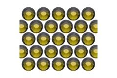 Dżety szklane SS30 (6mm) Olivine
