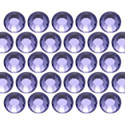 Dżety szklane SS30 (6mm) Tanzanite