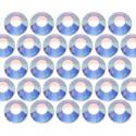 Dżety szklane SS20 (5mm) AB Crystal