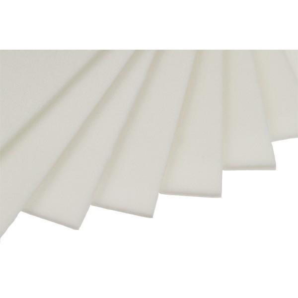 Pianka 3D do haftu arkusz 130x200cm 2mm Biała