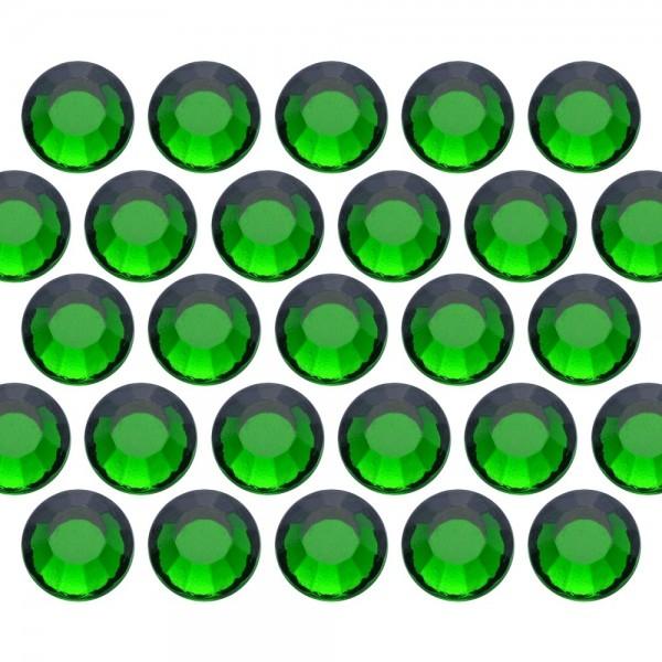 Dżety szklane SS20 (5mm) Emerald