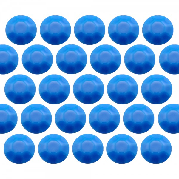 Blaszki stożkowe 3 mm Flu. Blue