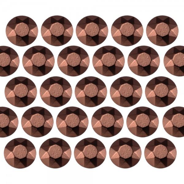 Blaszki stożkowe 4 mm Brown