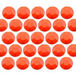 Blaszki stożkowe 6 mm Flu. Orange