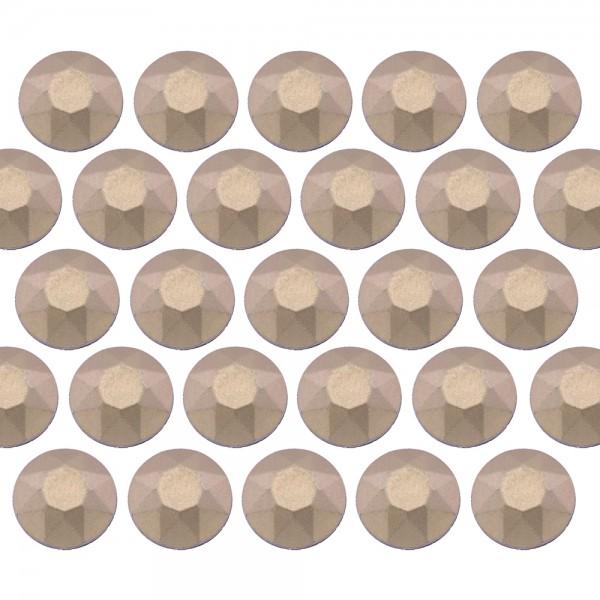Blaszki stożkowe 6 mm Matt Classic Beige