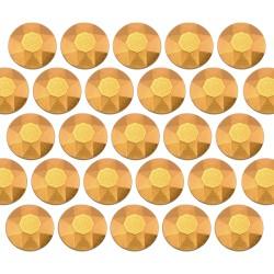 Blaszki stożkowe 6 mm Matt Gold