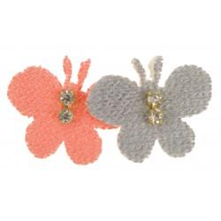 Aplikacja materiałowa Motylki A005