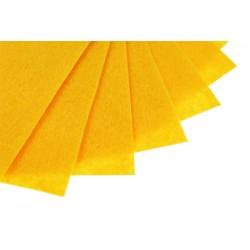 Filc w arkuszach 20x30 cm 15 szt. P017 Słoneczny Żółty