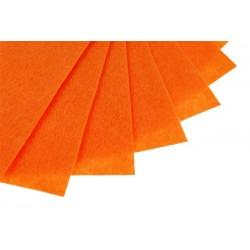 Filc w arkuszach 20x30 cm 15 szt. P040 Pomarańczowy