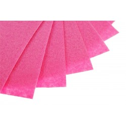 Filc w arkuszach 20x30 cm 15 szt. P065 Ciemny Różowy