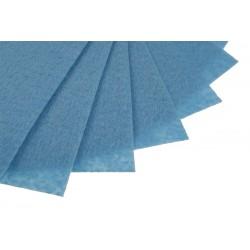 Filc w arkuszach 20x30 cm 15 szt. P041 Ciemny Niebieski