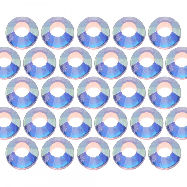 Dżety szklane SS6 (2mm) AB Crystal