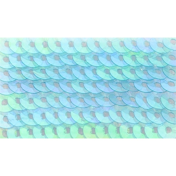 Embroidery sequins – transparent iridescent R208