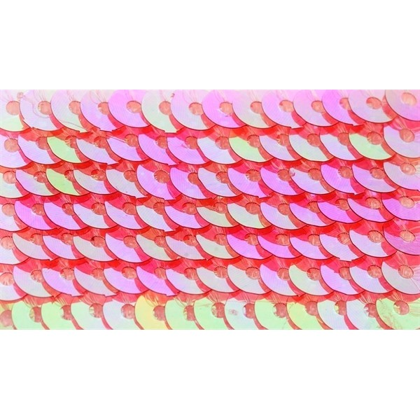 Embroidery sequins – transparent iridescent R206