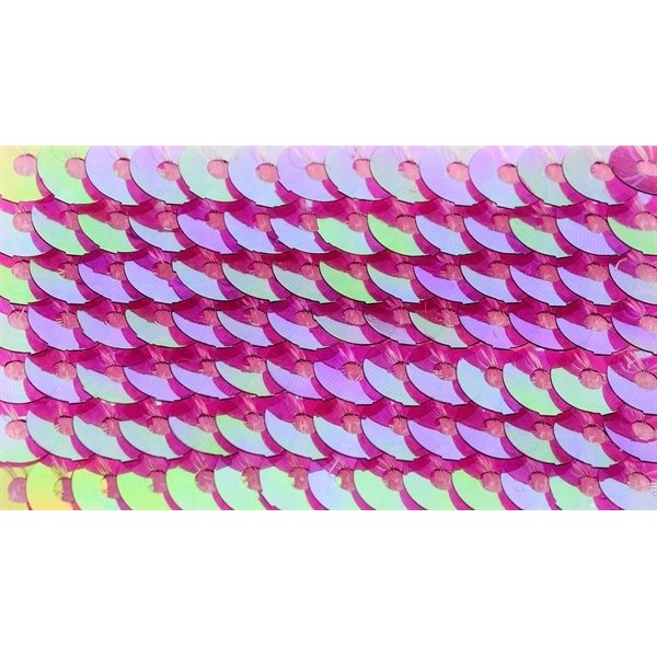 Embroidery sequins – transparent iridescent R205