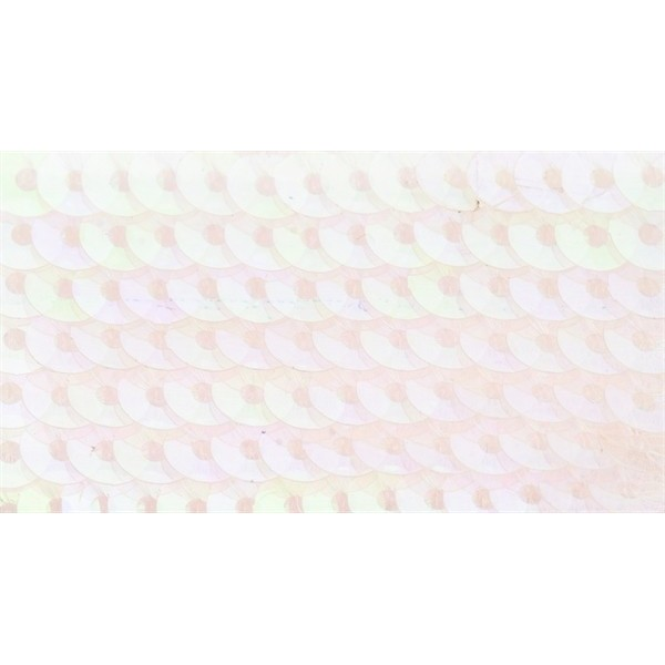 Embroidery sequins – transparent iridescent R203