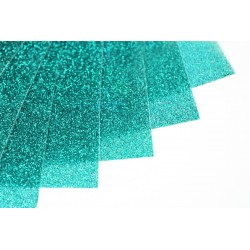 Glitter hot fix foil sheets 20x25cm SG-11 Sky 10 pcs
