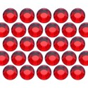 Glass rhinestone beads SS10 (3mm) Lt. Siam