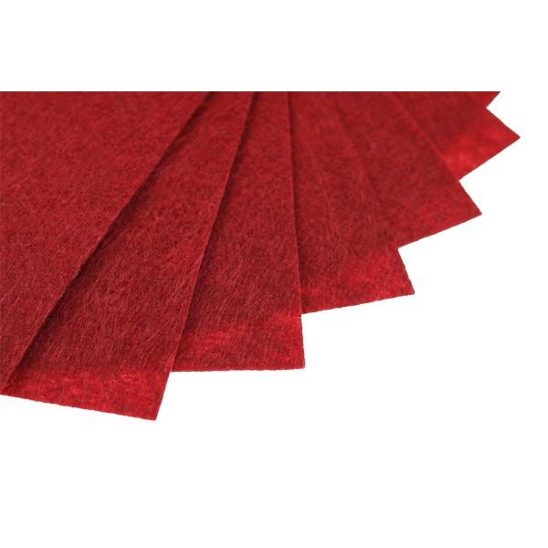 Felt sheets 20x30 cm P072 - 15 pcs