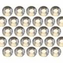 Glass rhinestone beads SS10 (3mm) Jonquil