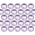 Glass rhinestone beads SS10 (3mm) Lt. Pink