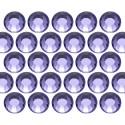 Glass rhinestone beads SS10 (3mm) Tanzanite