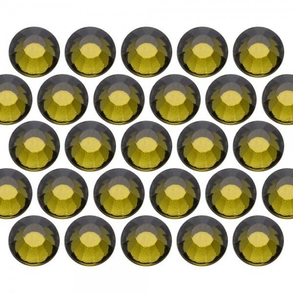 Glass rhinestone beads SS10 (3mm) Olivine