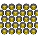 Glass rhinestone beads SS16 (4mm) Olivine