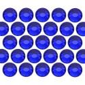Glass rhinestone beads SS16 (4mm) Cobalt
