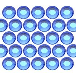 Glass rhinestone beads SS16 (4mm) Sapphire