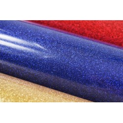 Glitter foil hot fix 50cm x 50m Royal Blue