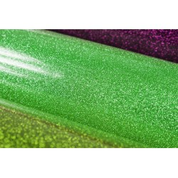 Glitter foil hot fix 50cm x 50m SG-35 Lt. Green