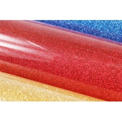 Glitter foil hot fix 50cm x 50m SG-05 Red