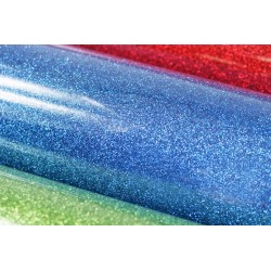 Glitter foil hot fix 50cm x 50m SG-06 Blue