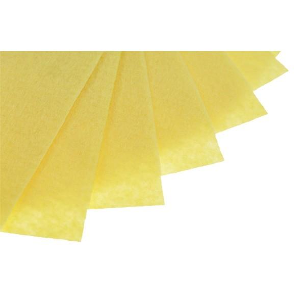 Filc w arkuszach 20x30 cm 1 szt. P034 Żółty