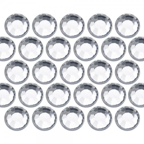Glass rhinestone beads SS16 (4mm) Crystal
